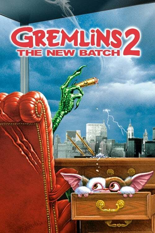 movie cover - Gremlins 2: The New Batch