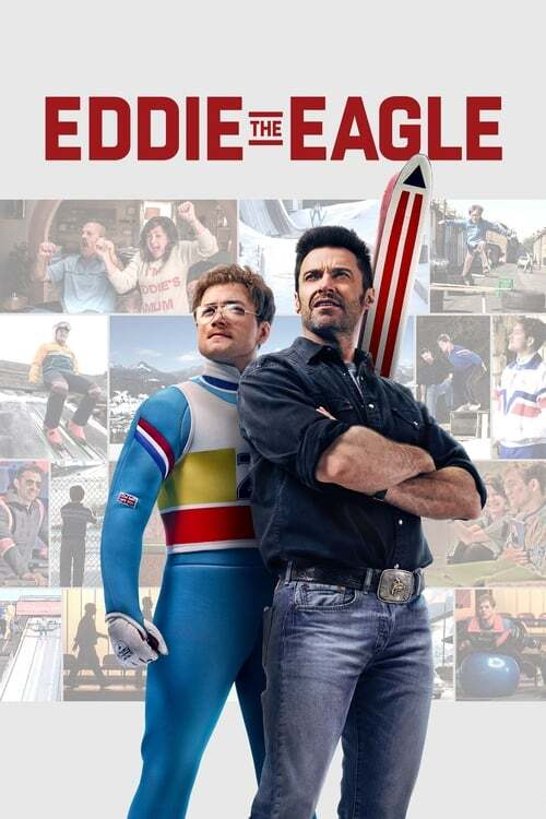 movie cover - Eddie The Eagle