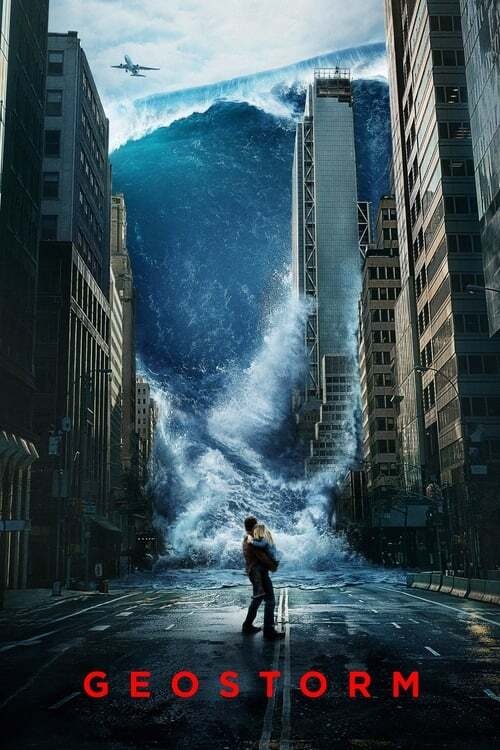 movie cover - Geostorm