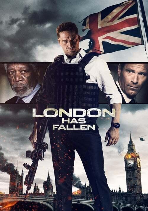 movie cover - London Has Fallen