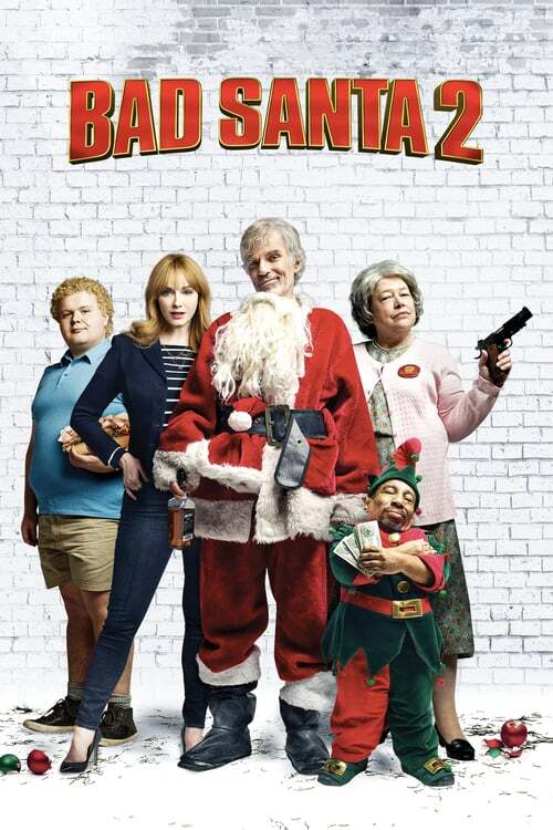 movie cover - Bad Santa 2