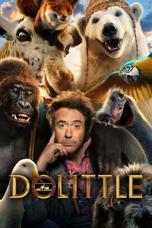 movie cover - Dolittle