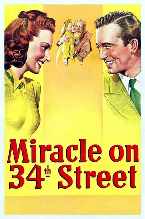 movie cover - Miracle On 34th Street