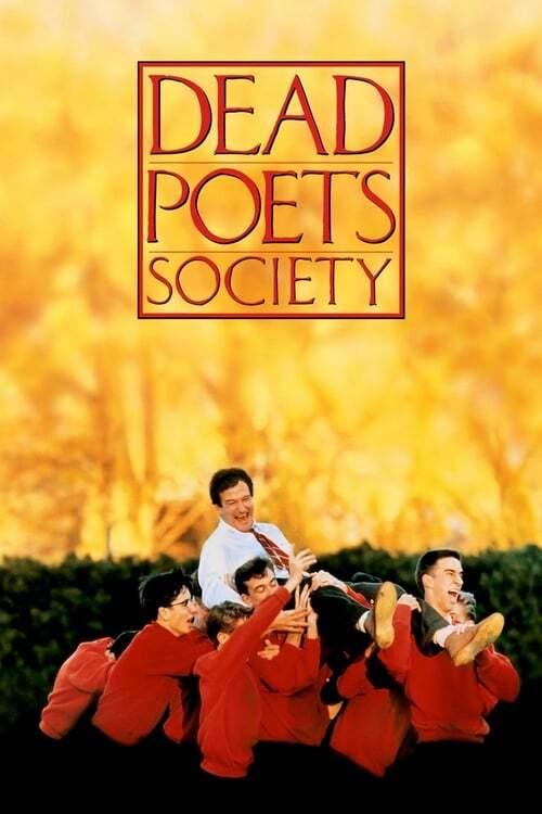 movie cover - Dead Poets Society