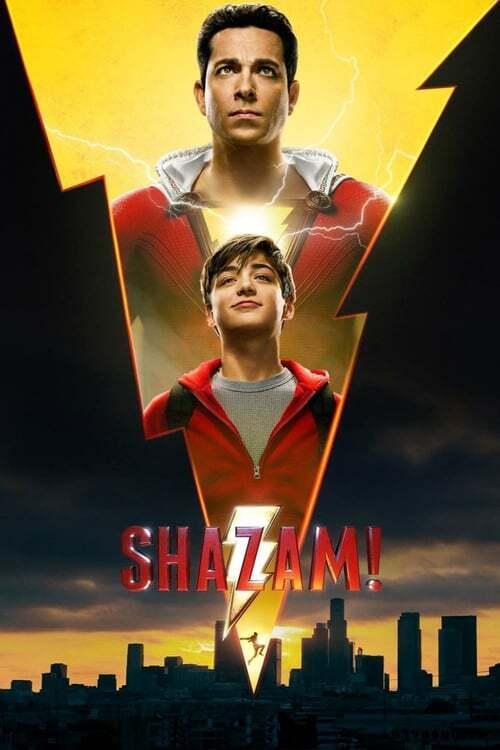 movie cover - Shazam!
