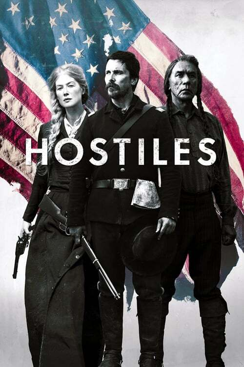 movie cover - Hostiles