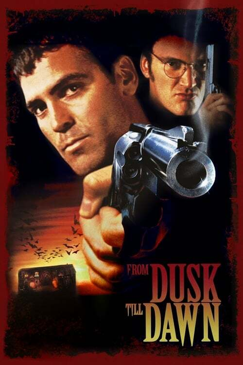 movie cover - From Dusk Till Dawn