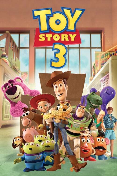 movie cover - Toy Story 3
