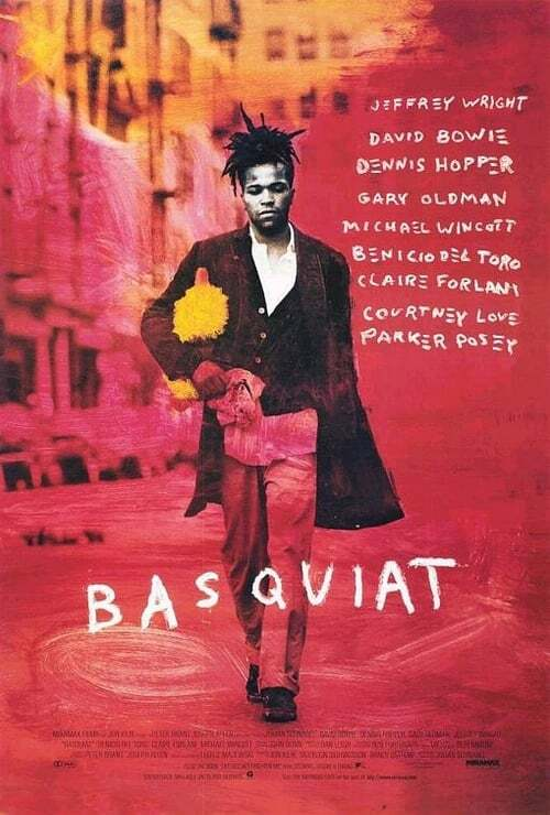 movie cover - Basquiat