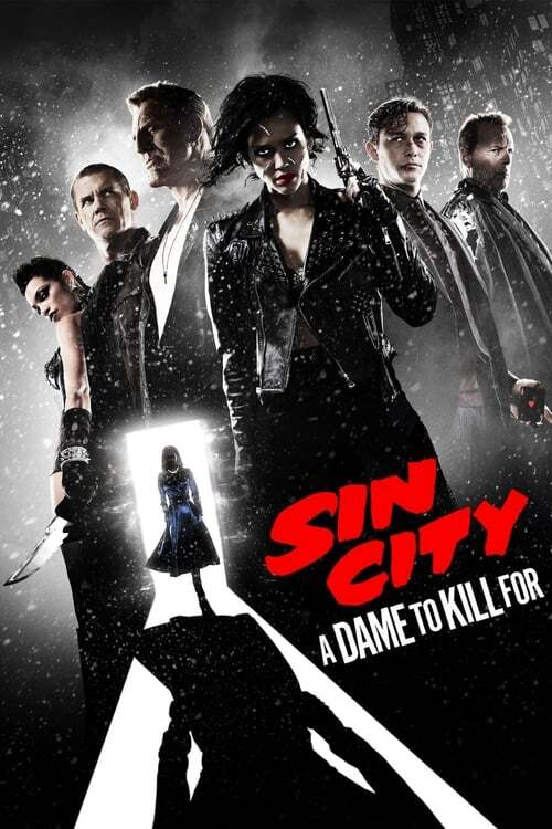 movie cover - Sin City: A Dame To Kill For