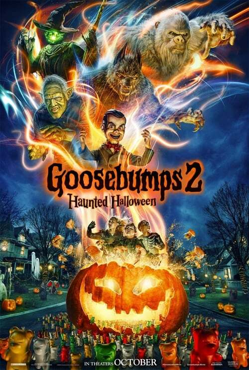 movie cover - Goosebumps 2: Haunted Halloween