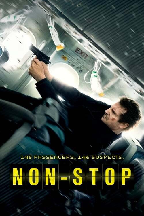 movie cover - Non-Stop