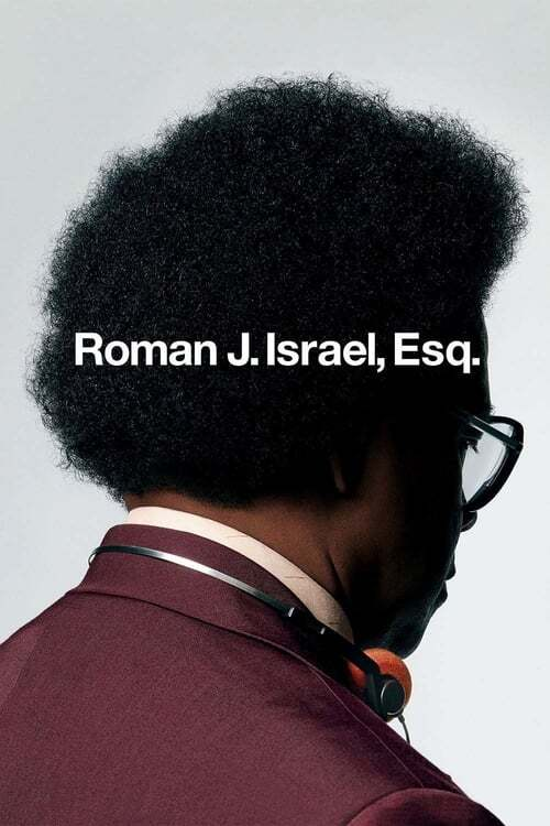 movie cover - Roman J. Israel, Esq