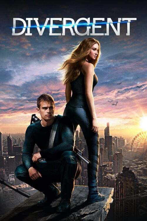 movie cover - Divergent