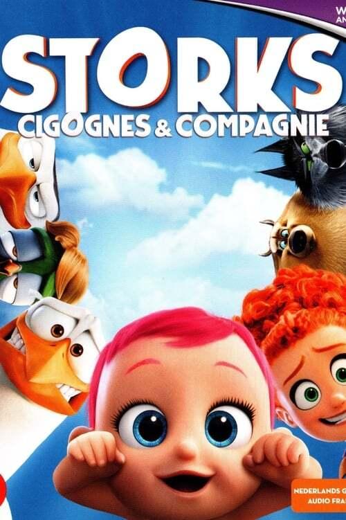 movie cover - Storks