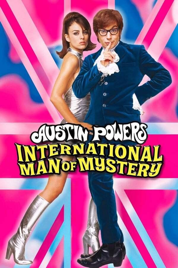 movie cover - Austin Powers: International Man of Mystery