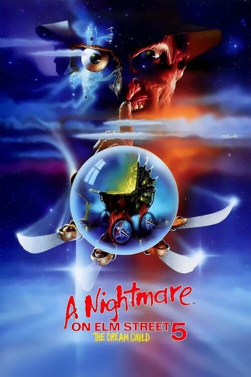 movie cover - A Nightmare On Elm Street 5: The Dream Child