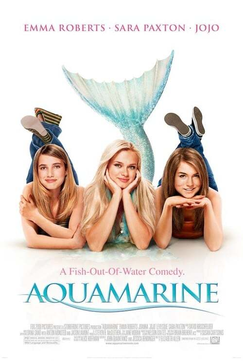 movie cover - Aquamarine