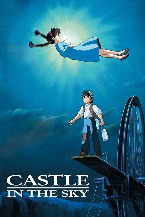 movie cover - Castle In The Sky
