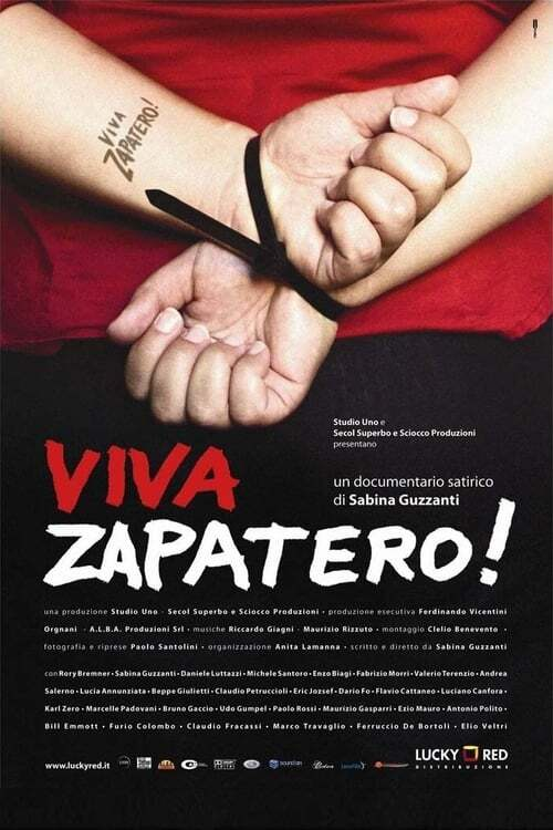 movie cover - Viva Zapatero!