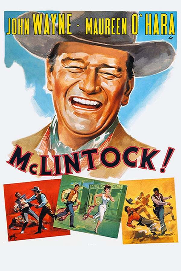 movie cover - McLintock!