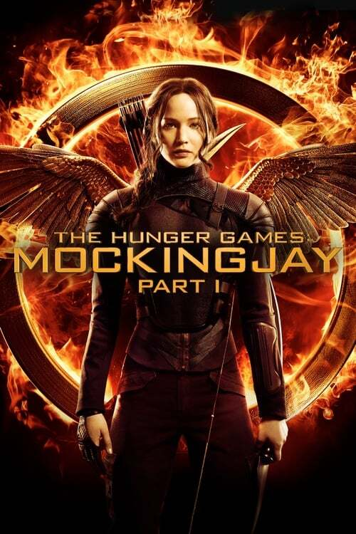movie cover - The Hunger Games: Mockingjay, Part 1