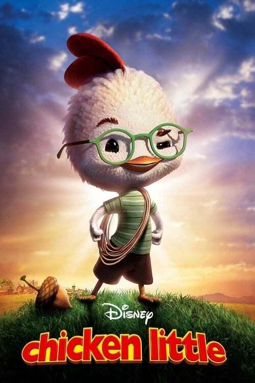 movie cover - Chicken Little