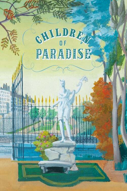 movie cover - Les Enfants Du Paradis