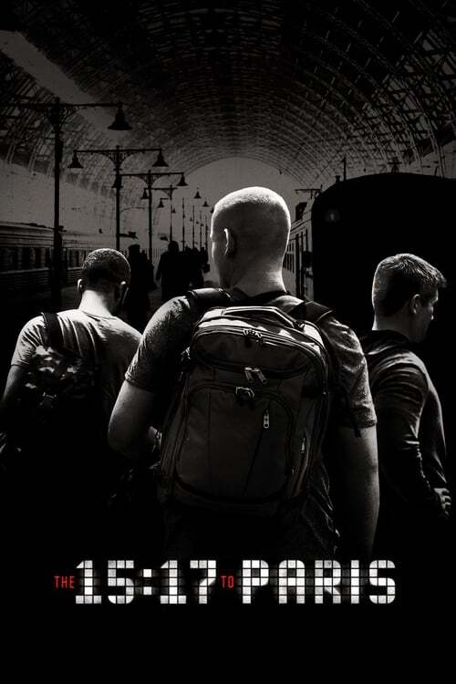 movie cover - The 15:17 To Paris