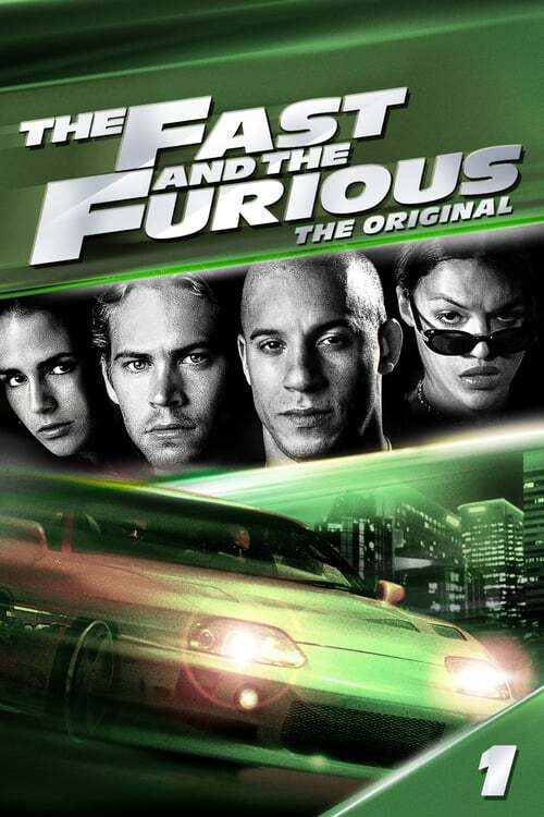 movie cover - The Fast And The Furious