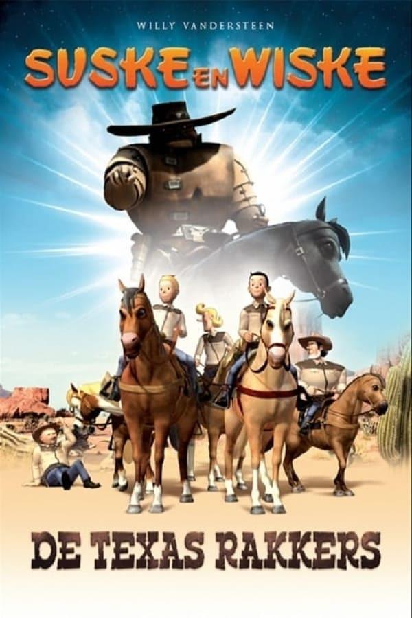 movie cover - Suske & Wiske: de Texasrakkers