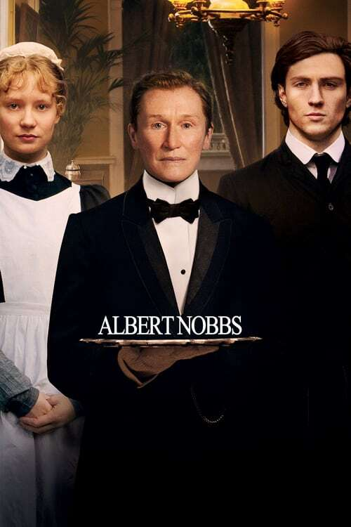 movie cover - Albert Nobbs