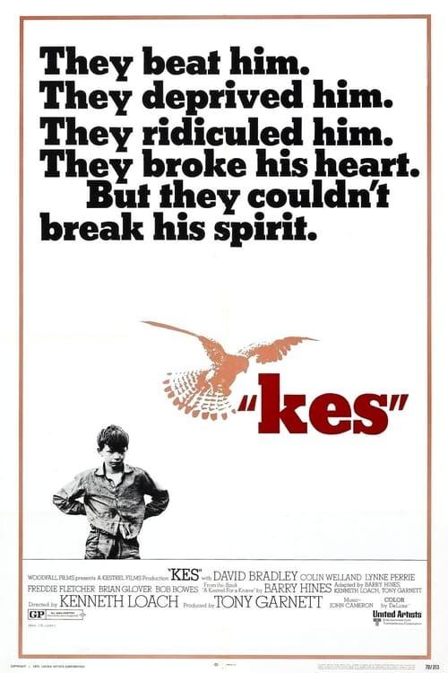 movie cover - Kes