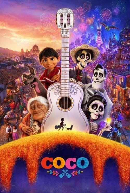 movie cover - Coco