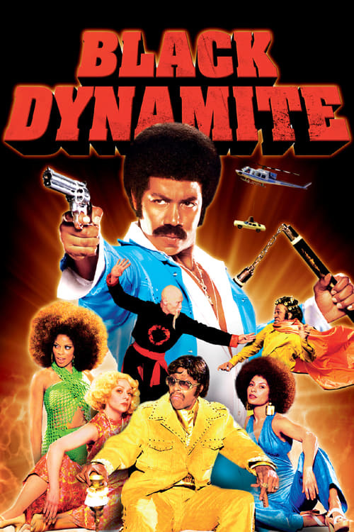 movie cover - Black Dynamite