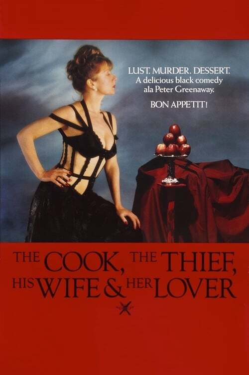 movie cover - The Cook, The Thief, His Wife And Her Lover