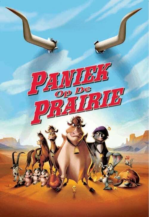 movie cover - Paniek Op De Prairie