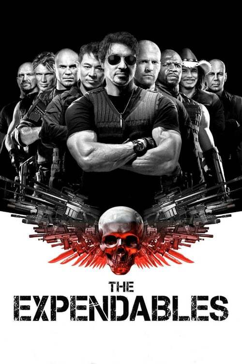 movie cover - The Expendables