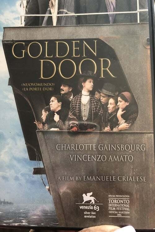 movie cover - Nuovomondo