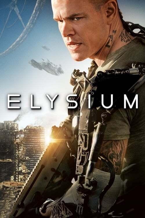 movie cover - Elysium