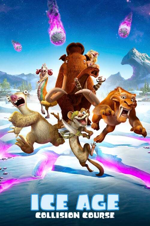 movie cover - Ice Age: Collision Course
