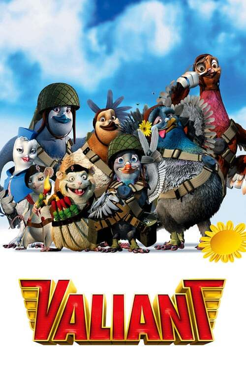 movie cover - Valiant