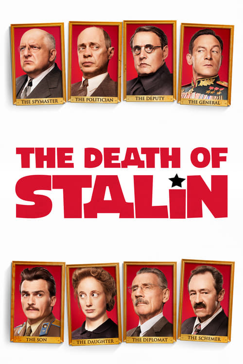 movie cover - The Death Of Stalin