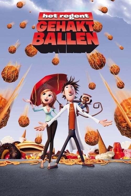 movie cover - Het Regent Gehaktballen
