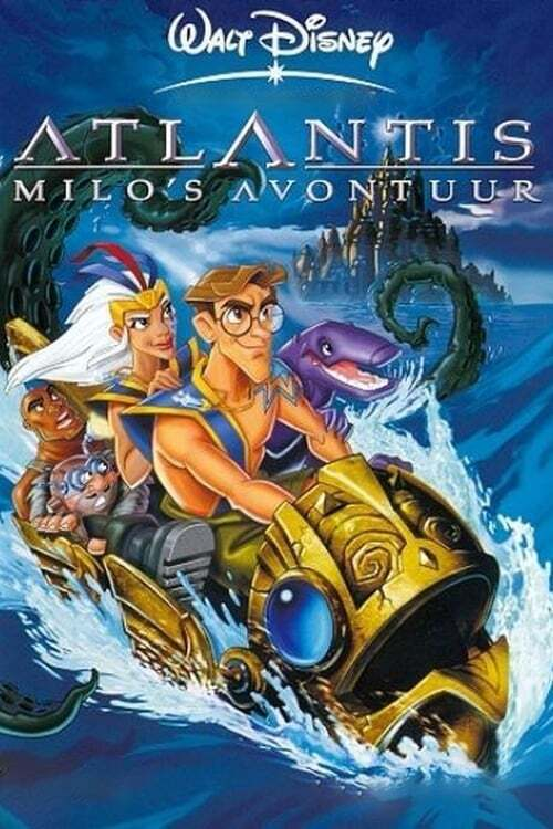 movie cover - Atlantis: Milo