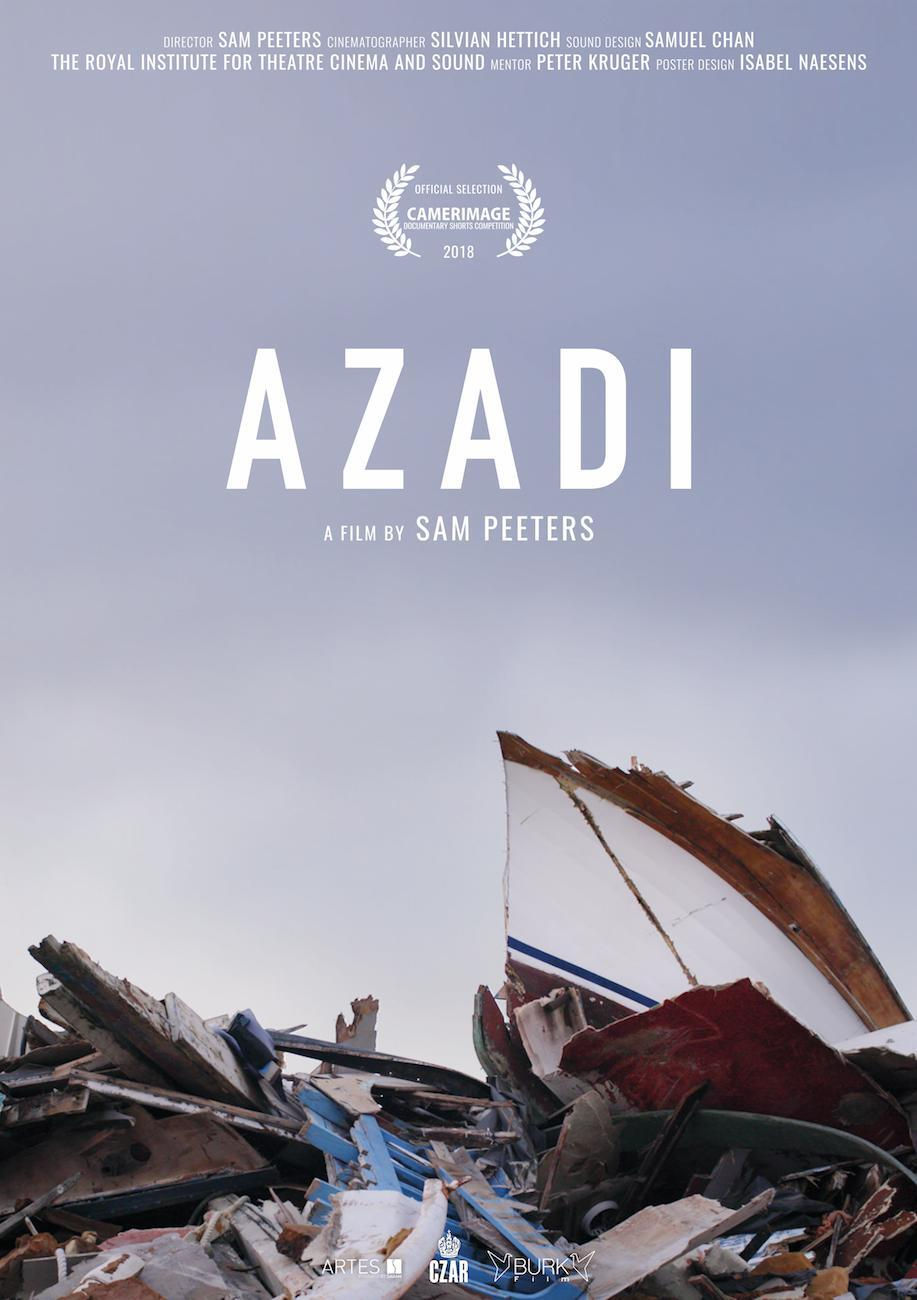 movie cover - Azadi