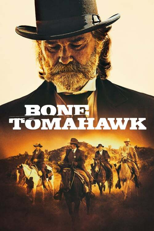 movie cover - Bone Tomahawk