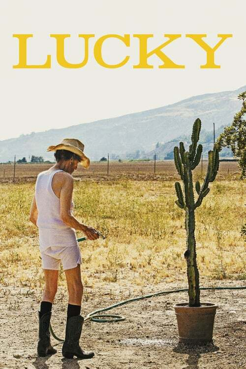 movie cover - Lucky