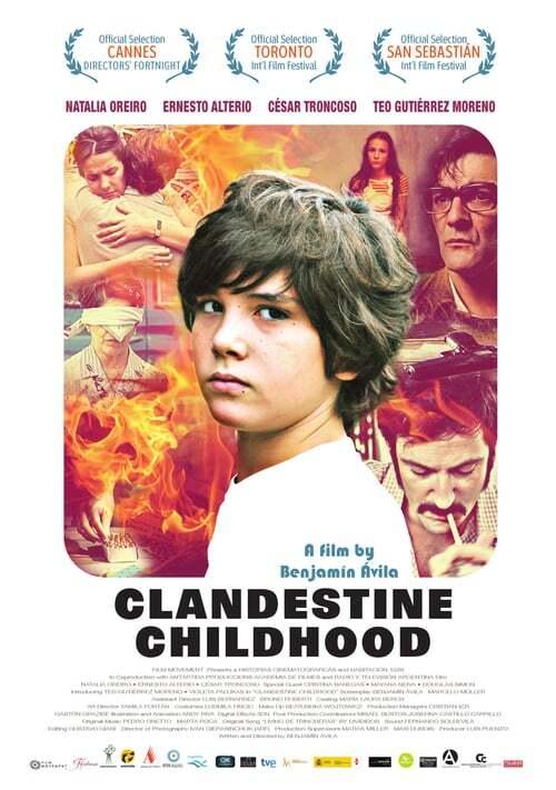 movie cover - Infancia Clandestina