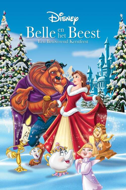 movie cover - Belle En Het Beest: Een Betoverend Kerstfeest